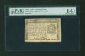 Colonial Notes:New York, New York March 5, 1776 $1/3 PMG Choice Uncirculated 64 EPQ....