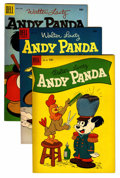Golden Age (1938-1955):Cartoon Character, Andy Panda File Copy Group (Dell, 1953) Condition: Average VF+....(Total: 20 Comic Books)