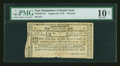 Colonial Notes:New Hampshire, New Hampshire August 24, 1775 £3 PMG Very Good 10 Net....