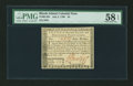 Colonial Notes:Rhode Island, Rhode Island July 2, 1780 $4 PMG Choice About Unc 58 EPQ....