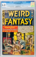 Golden Age (1938-1955):Science Fiction, Weird Fantasy #13 (#1) (EC, 1950) CGC FN 6.0 Cream to off-whitepages....