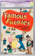 Platinum Age (1897-1937):Miscellaneous, Famous Funnies: A Carnival of Comics #nn (Eastern Color, 1933) CGCApparent FN 6.0 Slight (P) Cream to off-white pages....