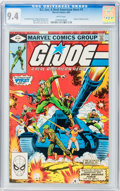Modern Age (1980-Present):War, G. I. Joe, A Real American Hero #1 (Marvel, 1982) CGC NM 9.4 Whitepages....