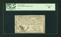 Colonial Notes:South Carolina, South Carolina February 8, 1779 $60 PCGS Choice About New 55....