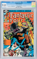 Modern Age (1980-Present):Superhero, Fantastic Four #219, 221, and 222 CGC-Graded Group (Marvel, 1980)CGC NM/MT 9.8.... (Total: 3 Comic Books)
