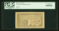 Colonial Notes:New Jersey, New Jersey March 25, 1776 1s PCGS Very Choice New 64PPQ....