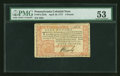 Colonial Notes:Pennsylvania, Pennsylvania April 10, 1777 £4 PMG About Uncirculated 53....