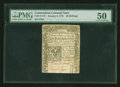 Colonial Notes:Connecticut, Connecticut January 2, 1775 40s PMG About Uncirculated 50....