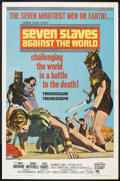 "Movie Posters:Adventure, Seven Slaves Against the World (Paramount, 1965). One Sheet (27"" X41""). Adventure.. ..."