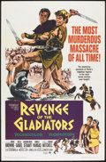 """Movie Posters:Action, Revenge of the Gladiators (American International, 1964). One Sheet (27"""" X 41""""). Action.. ..."""
