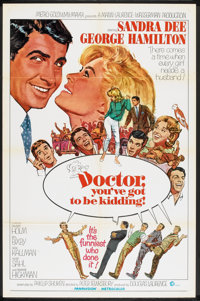 """Doctor, You've Got to Be Kidding! (MGM, 1967). One Sheet (27"""" X 41""""). Comedy"""