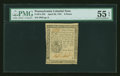 Colonial Notes:Pennsylvania, Pennsylvania April 20, 1781 9d PMG About Uncirculated 55 EPQ....