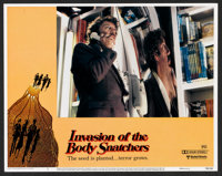 "Invasion of the Body Snatchers (United Artists, 1978). Lobby Card Set of 8 (11"" X 14""). Science Fiction. ... (..."