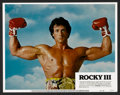 "Movie Posters:Sports, Rocky III (United Artists, 1982). Lobby Card Set of 8 (11"" X 14""). Sports.. ... (Total: 8 Items)"