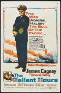 """Movie Posters:War, The Gallant Hours (United Artists, 1960). One Sheet (27"""" X 41"""").War.. ..."""