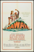 "Movie Posters:Drama, Hawaii (United Artists, 1966). One Sheet (27"" X 41""). Drama.. ..."