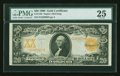 Large Size:Gold Certificates, Fr. 1183 $20 1906 Gold Certificate PMG Very Fine 25....