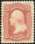 Stamps, 3c Red, F. Grill (94),...