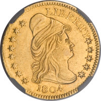 1804 $2 1/2 14 Star Reverse--Improperly Cleaned--NCS. AU Details....(PCGS# 7652)