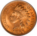 Indian Cents, 1896 1C MS67 Red PCGS....