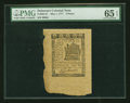 Colonial Notes:Delaware, Delaware May 1, 1777 3d PMG Gem Uncirculated 65 EPQ....