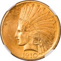 Indian Eagles, 1910 $10 MS65 NGC....