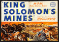 "Movie Posters:Adventure, King Solomon's Mines Lot (MGM, 1950). Pressbooks (2) (MultiplePages, 12.5"" X 18""). Adventure.. ... (Total: 2 Items)"
