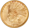 Indian Eagles, 1912-S $10 MS64 NGC....