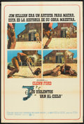 "Movie Posters:Western, Heaven With a Gun (MGM, 1969). Argentinean Poster (29"" X 43""). Western.. ..."