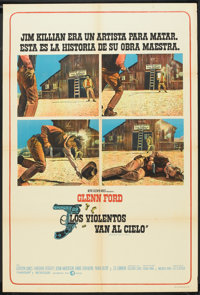 """Heaven With a Gun (MGM, 1969). Argentinean Poster (29"""" X 43""""). Western"""