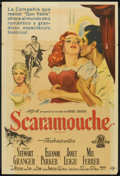 """Movie Posters:Swashbuckler, Scaramouche (MGM, 1952). Argentinean Poster (29"""" X 43""""). Swashbuckler.. ..."""