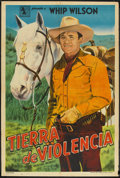 """Movie Posters:Western, Montana Incident (Monogram, 1952). Argentinean Poster (29"""" X 43""""). Western.. ..."""
