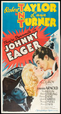 "Movie Posters:Film Noir, Johnny Eager (MGM, 1942). Three Sheet (41"" X 81""). Film Noir.. ..."