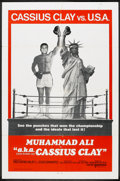 """Movie Posters:Sports, Muhammad Ali a.k.a. Cassius Clay Lot (United Artists, 1970). One Sheets (2) (27"""" X 41"""") International and Regular Style. Spo... (Total: 2 Items)"""
