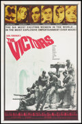 """Movie Posters:War, The Victors (Columbia, 1963). One Sheet (27"""" X 41""""). War.. ..."""