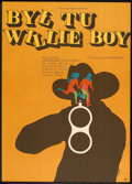 "Movie Posters:Drama, Tell Them Willie Boy Is Here (Universal, 1971). Polish One Sheet (23"" X 32""). Drama.. ..."