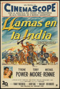 "Movie Posters:Adventure, King of the Khyber Rifles (20th Century Fox, 1954). ArgentineanPoster (29"" X 43""). Adventure.. ..."