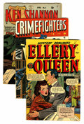 Golden Age (1938-1955):Crime, Comics - Assorted Golden Age Crime Titles Group (Various Publishers, 1947-51) Condition: Average VG/FN.... (Total: 6 Comic Books)