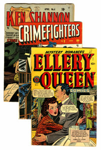 Comics - Assorted Golden Age Crime Titles Group (Various Publishers, 1947-51) Condition: Average VG/FN.... (Total: 6 Com...