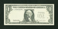 Error Notes:Third Printing on Reverse, Fr. 1921-D $1 1995 Federal Reserve Note. Extremely Fine.. ...