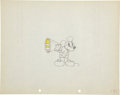 Animation Art:Production Drawing, Mickey Mouse Animation Production Drawing Original Art (WaltDisney, c. 1929)....