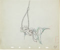 Animation Art:Production Drawing, Tugboat Mickey Animation Production Drawing Original Art(Disney, 1940)....