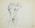 Animation Art:Production Drawing, The Autograph Hound Lionel Barrymore Animation ProductionDrawing Original Art (Disney, 1939)....