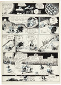 Original Comic Art:Panel Pages, Bobby London Dirty Duck Panel Page Original Art (c. early1970s)....