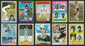 Baseball Cards:Lots, 1950's-1980's Topps, Fleer and Donruss Baseball Hall of Famers Rookie Cards Group of (19)....