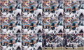 Football Collectibles:Photos, Donovan McNabb Oversized Signed Photographs Lot of 12. ...