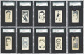 Boxing Cards:General, 1927 E211 York Caramel Boxers SGC-Graded Collection (10). ...