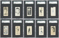 Boxing Cards:General, 1927 E211 York Caramel SGC-Graded Collection (10)....