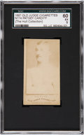 Boxing Cards:General, 1887 N174 Old Judge Patsey Cardiff SGC 60 EX 5....