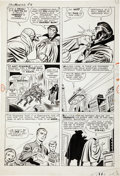Original Comic Art:Panel Pages, Jack Kirby and Sol Brodsky Fantastic Four #3 page 4 OriginalArt (Marvel, 1962)....